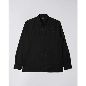 Odjeća Muškarci  Košulje dugih rukava Edwin Chemise  Fannar noir