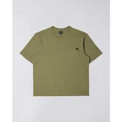 Odjeća Muškarci  Majice kratkih rukava Edwin T-shirt  Oversized vert kaki