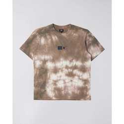 Odjeća Muškarci  Majice kratkih rukava Edwin T-shirt  Synergy marron/blanc