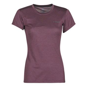 Odjeća Žene  Majice kratkih rukava adidas Performance W Tivid Tee Ljubičasta