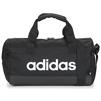 Torbe Sportske torbe adidas Performance LIN DUFFLE XS Crna