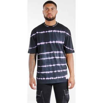 Odjeća Muškarci  Majice / Polo majice Sixth June T-shirt  Tie & Dye noir/violet