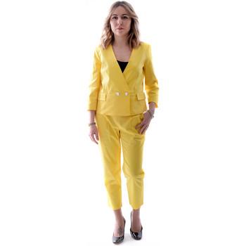 Odjeća Žene  Odijela Fracomina FR20SP090 Žuta boja