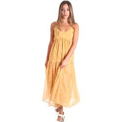 Odjeća Žene  Duge haljine Fracomina FR20SMLINDA Žuta boja