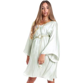 Odjeća Žene  Kratke haljine Fracomina FR20SMELISABETH Zelena