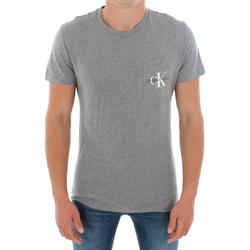 Odjeća Muškarci  Majice kratkih rukava Calvin Klein Jeans J30J311023 039 LIGHT GREY MELANGE Gris