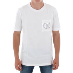 Odjeća Muškarci  Majice kratkih rukava Calvin Klein Jeans J30J309612 112 OFF WHITE Blanco