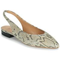 Obuća Žene  Balerinke i Mary Jane cipele JB Martin VELANI Bijela / Crna
