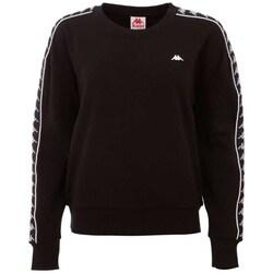 Odjeća Muškarci  Sportske majice Kappa Hanka Women Sweatshirt Crna