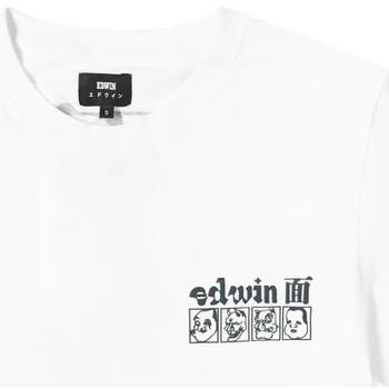 Odjeća Muškarci  Majice kratkih rukava Edwin T-shirt  Hokusai Noh Masks blanc/noir