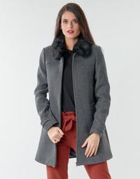Odjeća Žene  Kaputi Naf Naf AZAZOU M1 Siva