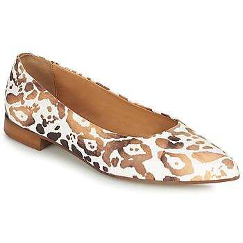 Obuća Žene  Balerinke i Mary Jane cipele Fericelli SELENA Bijela / Gold