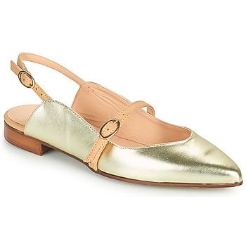 Obuća Žene  Balerinke i Mary Jane cipele Fericelli SUSANNA Gold