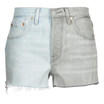 Odjeća Žene  Bermude i kratke hlače Levi's ICE BLOCK Blue / Siva