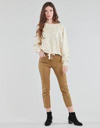 Odjeća Žene  Hlače s pet džepova Levi's SOFT CANVAS TOASTED COCONUT OD Bež