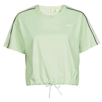 Odjeća Žene  Majice kratkih rukava Levi's GINGER NYLON PIECED TEE BOK CHOY, TOFU & CAVIAR Bijela