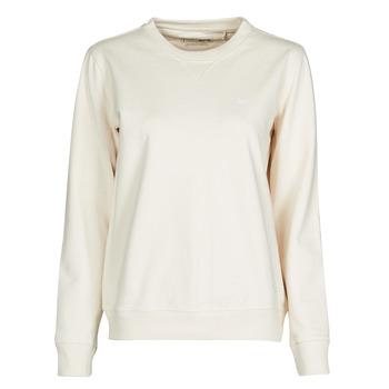Odjeća Žene  Sportske majice Lee SUSTAINABLE SWS ECRU MELE Bijela