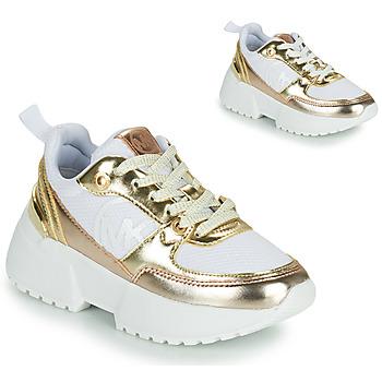 Obuća Djevojčica Niske tenisice MICHAEL Michael Kors COSMO SPORT Bijela / Gold