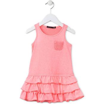 Odjeća Djevojčica Kratke haljine Losan 716 7009AD Ružičasta