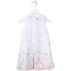 Odjeća Djevojčica Kratke haljine Losan 716 7784AD Bijela
