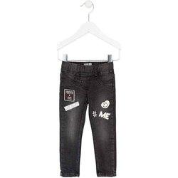 Odjeća Djevojčica Slim traperice Losan 726 6032AD Crno
