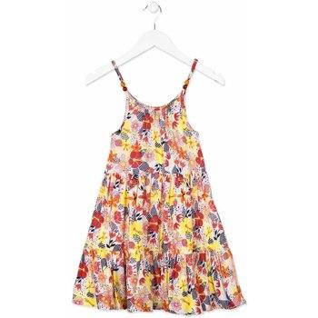 Odjeća Djevojčica Kratke haljine Losan 814-7028AB Naranča