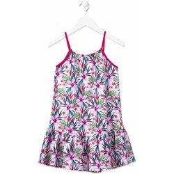 Odjeća Djevojčica Kratke haljine Losan 814-7043AB Ružičasta