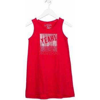 Odjeća Djevojčica Kratke haljine Losan 814-7300AB Ružičasta