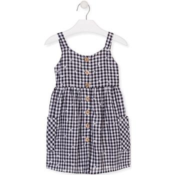 Odjeća Djevojčica Kratke haljine Losan 016-7002AL Plava