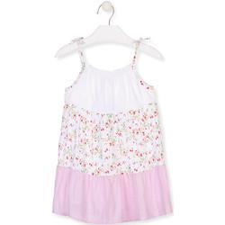 Odjeća Djevojčica Kratke haljine Losan 016-7030AL Bijela