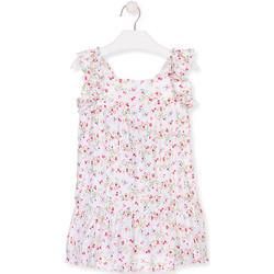 Odjeća Djevojčica Kratke haljine Losan 016-7031AL Bijela