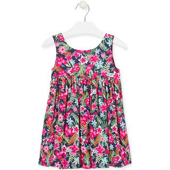 Odjeća Djevojčica Kratke haljine Losan 016-7036AL Ružičasta