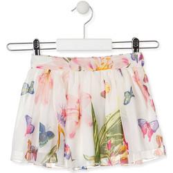 Odjeća Djevojčica Suknje Losan 016-7781AL Bijela
