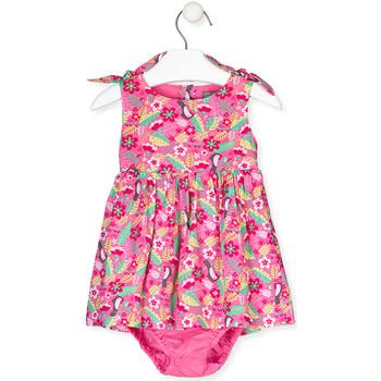 Odjeća Djevojčica Haljine Losan 018-7006AL Ružičasta