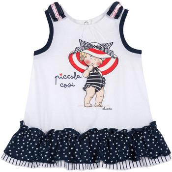 Odjeća Djevojčica Kratke haljine Chicco 09003587000000 Bijela