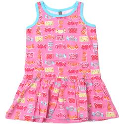 Odjeća Djevojčica Kratke haljine Losan 816-7044AD Ružičasta