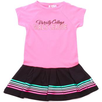 Odjeća Djevojčica Kratke haljine Melby 70A5705 Ružičasta