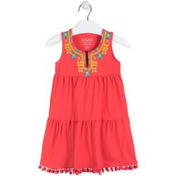 Odjeća Djevojčica Kratke haljine Losan 016-7012AL Crvena