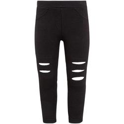 Odjeća Djevojčica Tajice Losan 026-6008AL Crno
