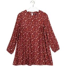 Odjeća Djevojčica Kratke haljine Losan 024-7016AL Crvena