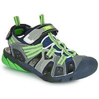 Obuća Dječak  Sportske sandale Primigi ANATI Siva / Zelena