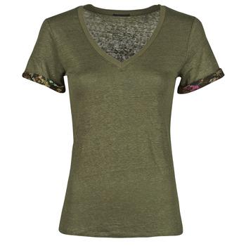 Odjeća Žene  Majice kratkih rukava Ikks BS10255-56 Kaki