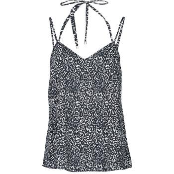 Odjeća Žene  Majice s naramenicama i majice bez rukava Ikks BS11015-02 Crna
