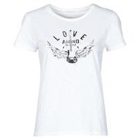 Odjeća Žene  Majice kratkih rukava Ikks BS10185-11 Krem boja