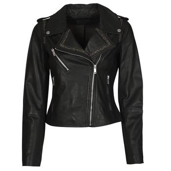 Odjeća Žene  Kožne i sintetičke jakne Ikks BQ48045-02 Crna