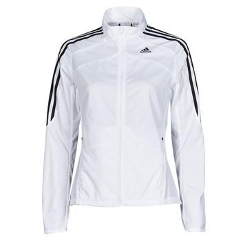 Odjeća Žene  Gornji dijelovi trenirke adidas Performance MARATHON JKT W Bijela