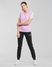 Odjeća Žene  Donji dio trenirke adidas Performance W 3S FL C PT Crna