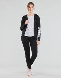 Odjeća Žene  Dvodijelne trenirke adidas Performance W LIN FT TS Crna