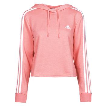 Odjeća Žene  Sportske majice adidas Performance W 3S FT CRO HD Ružičasta