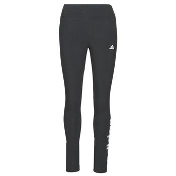 Odjeća Žene  Tajice adidas Performance W LIN LEG Crna
